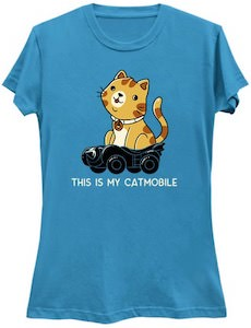 This Is My Catmobile T-Shirt