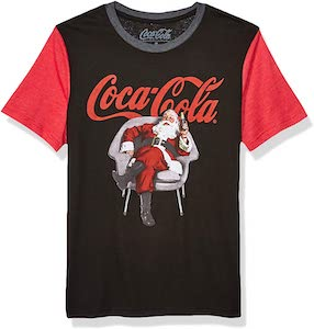 Santa Claus Having A Coca Cola T-Shirt