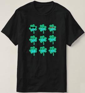 Masked Shamrocks T-Shirt