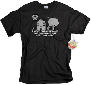 I Went Outside Once Video Game Addict T-Shirt
