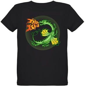 Green Dragon Kids T-Shirt
