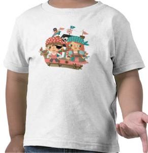 Girly Pirates Kids T-Shirt
