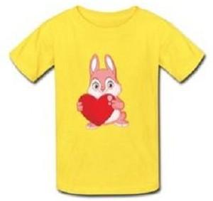 Rabbit And Hearts T-Shirt