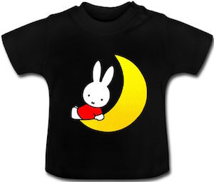Miffy On The Moon Toddler T-Shirt