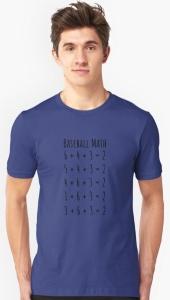 Baseball Math T-Shirt