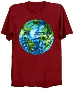 Earth Disco Ball T-Shirt