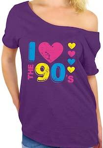 Women's I Love The  90's T-Shirt